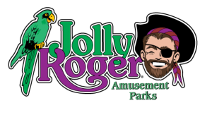 Jolly Roger Logo Amusement Parks
