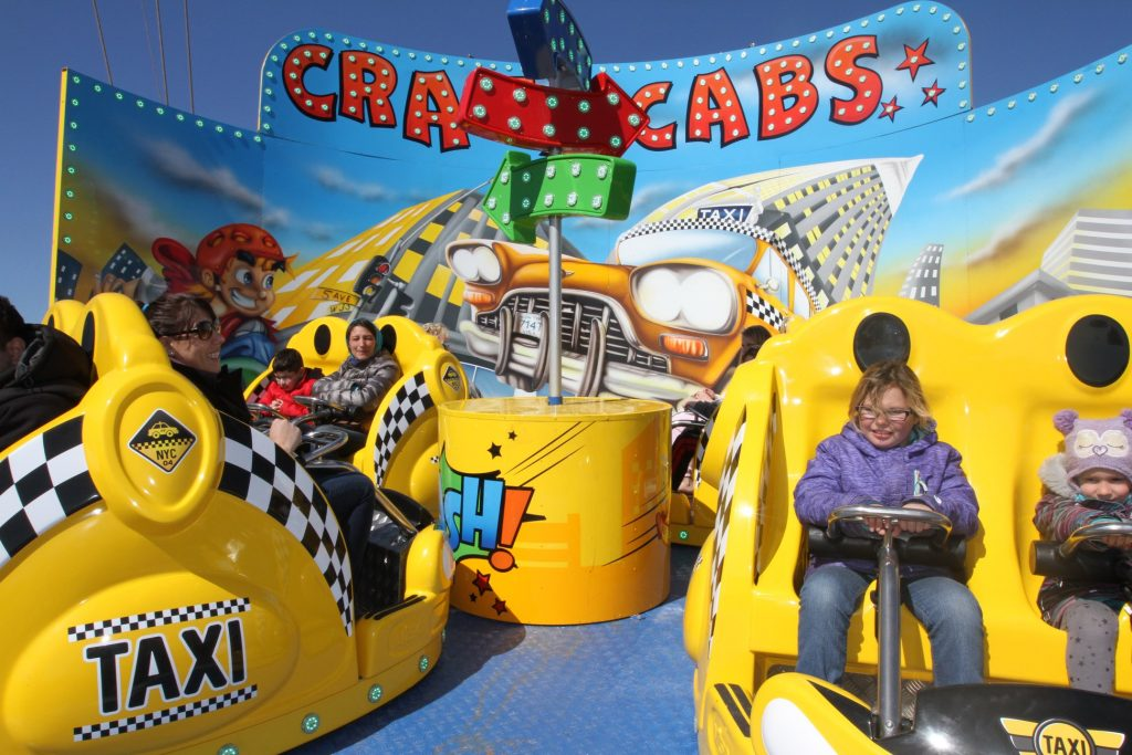 Crazy Cabs Easter
