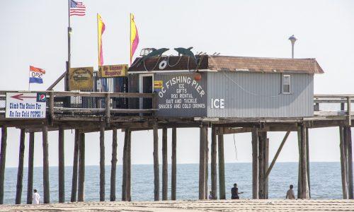 Pier Beach Ocean Fishing Inlet