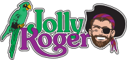 Jolly Roger at the pier Logo