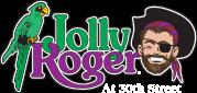 Jolly Roger at the pier Logo