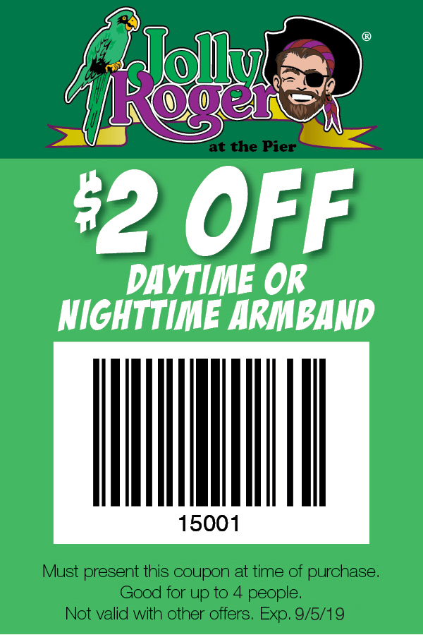 Coupon Jollyrogerpier