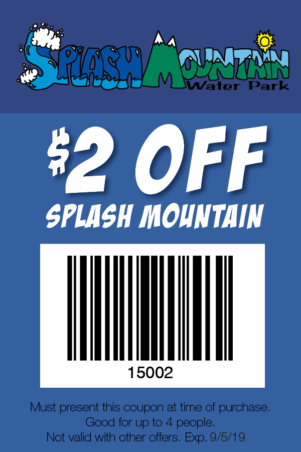 Splashmountain Coupon