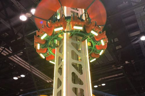 Drop Tower at the Pier